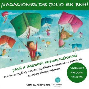 ¡VACACIONES DE JULIO EN BNH! (3)